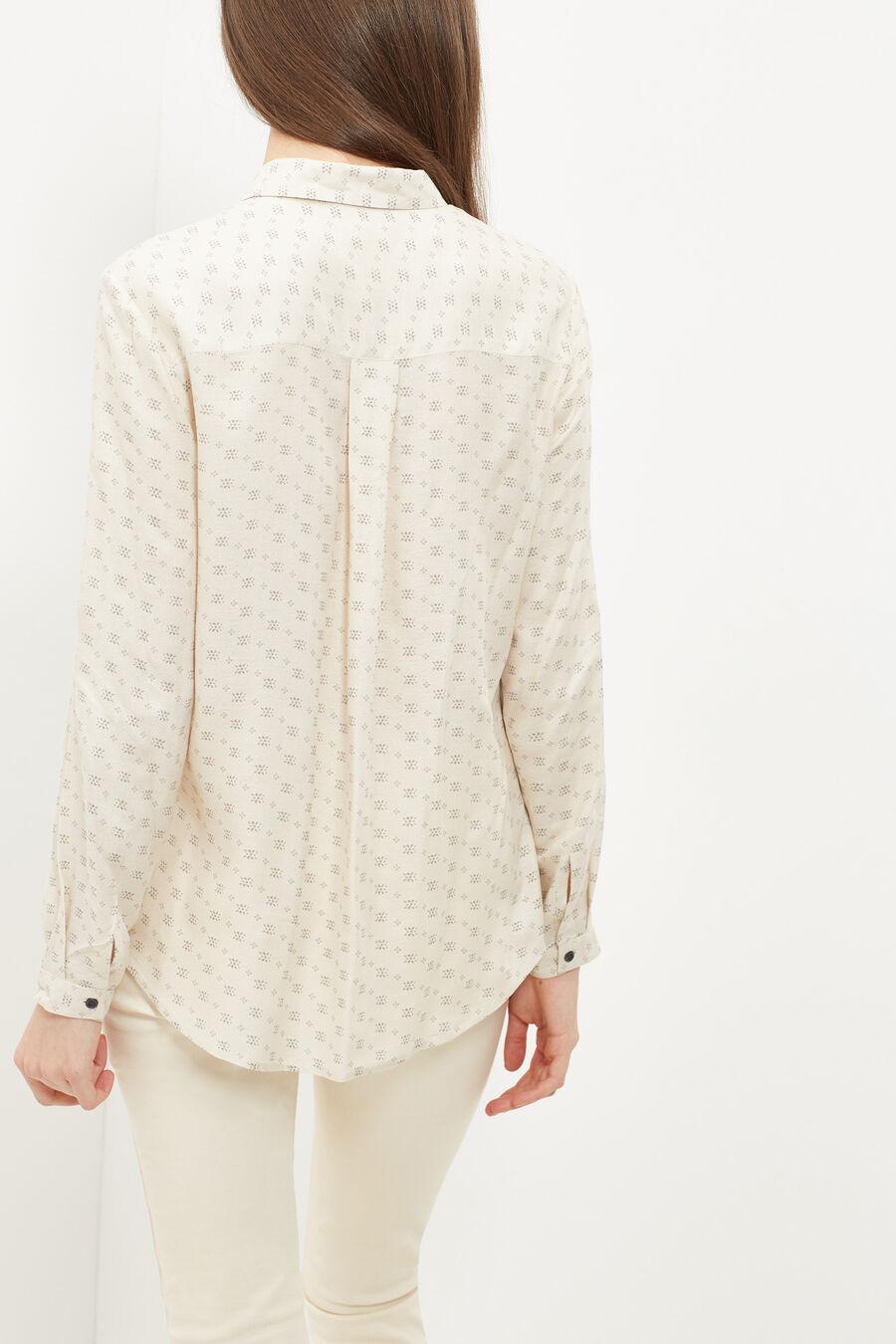Patterned preppy shirt