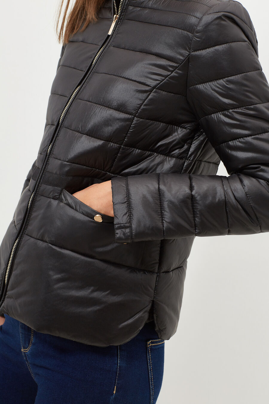 Quilted anorak