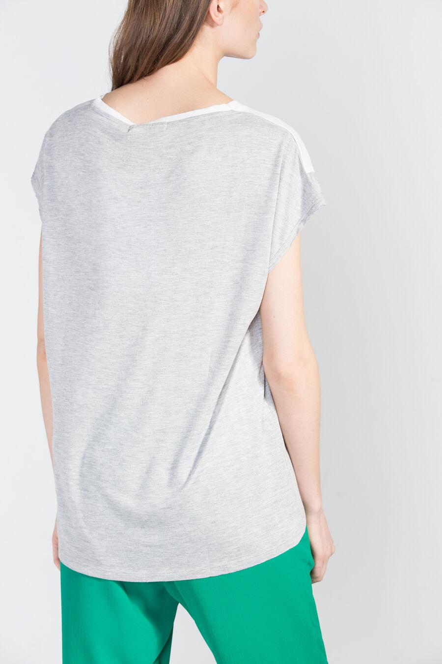 Photographic print T-shirt