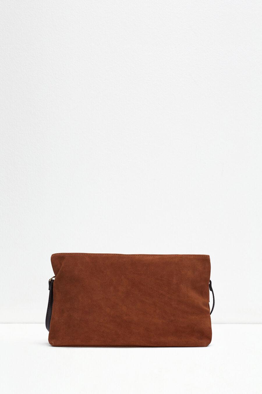 Suede purse