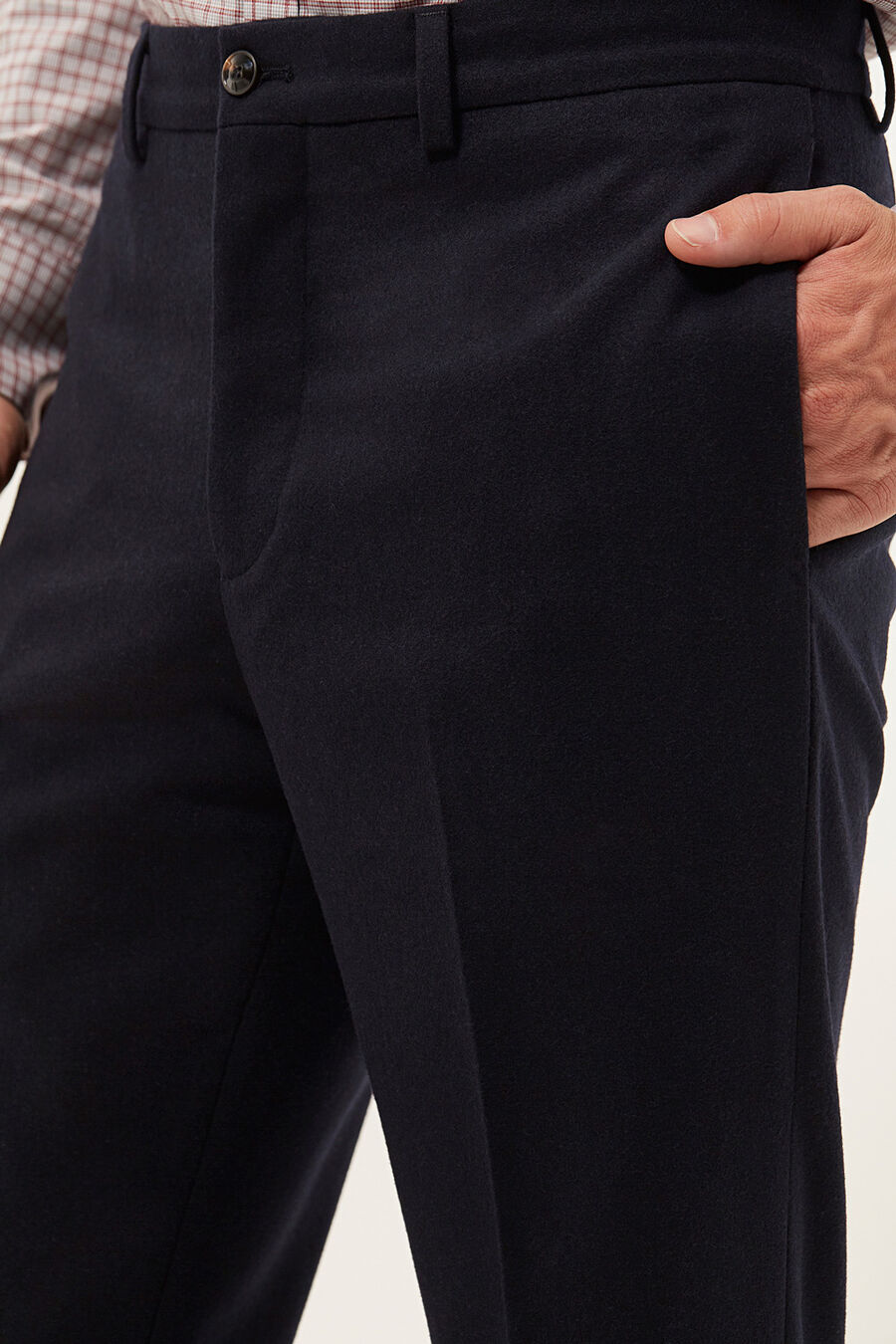 Tailored fit trousers