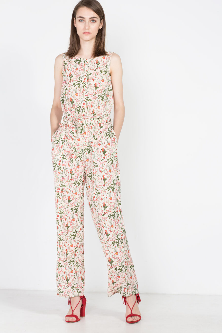 Fluid jumpsuit