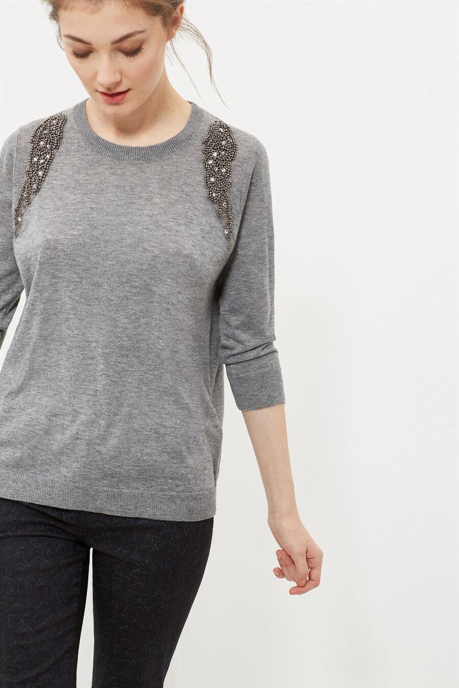Round-neck jumper