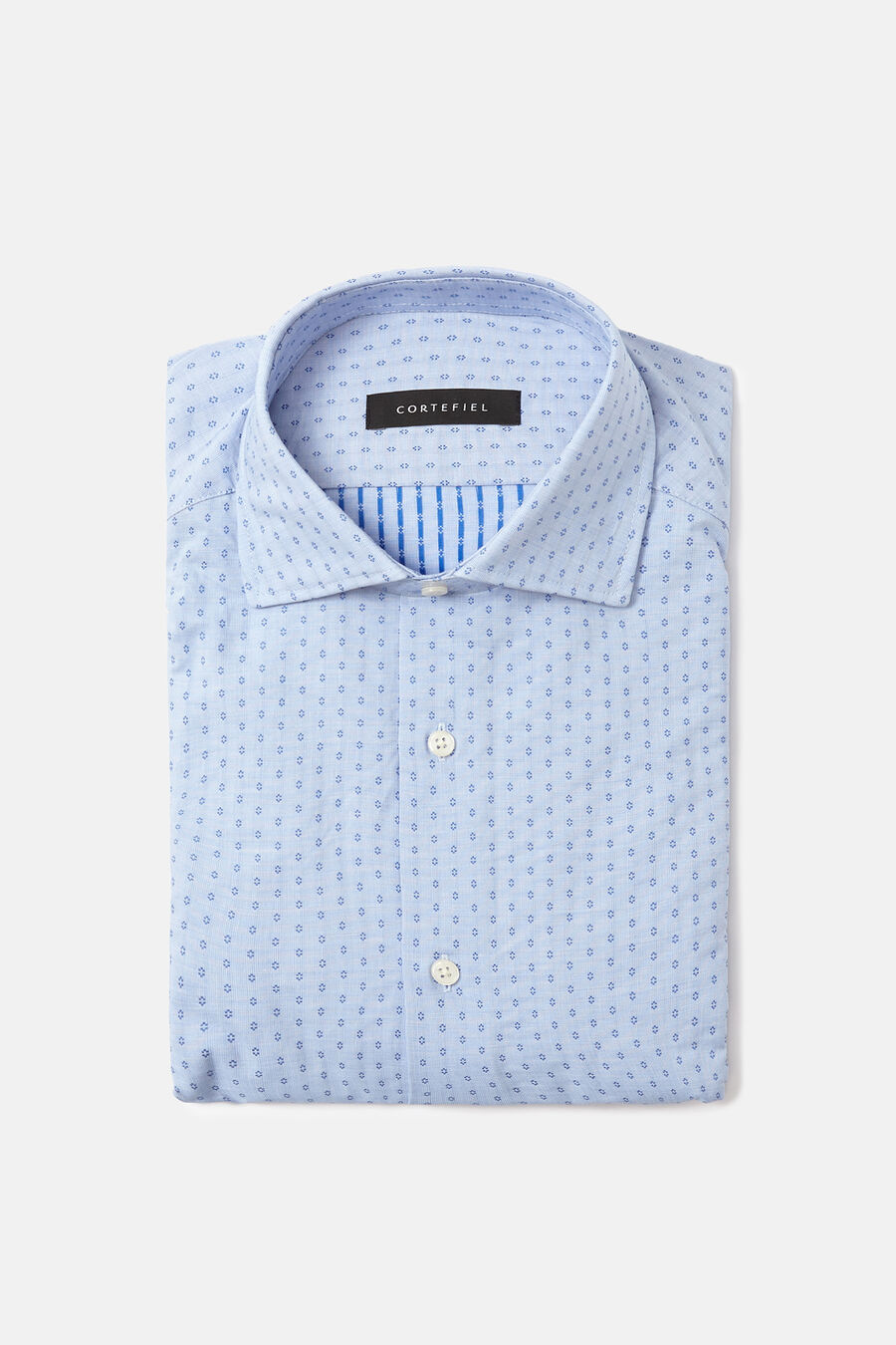 Jacquard dress shirt