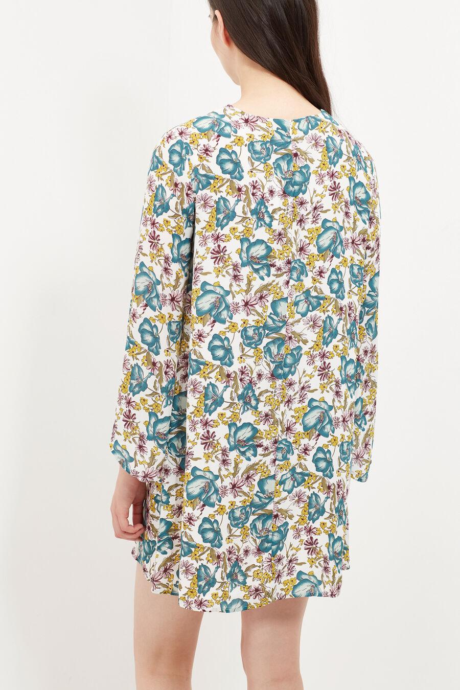 Vestido túnica estampado