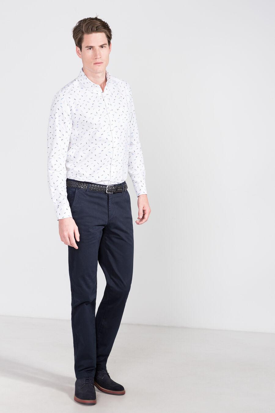 Oxford printed shirt