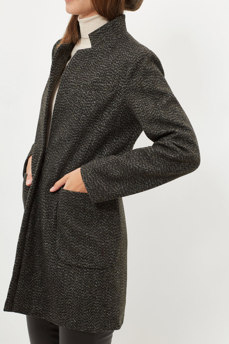 Masculine Tweed cut