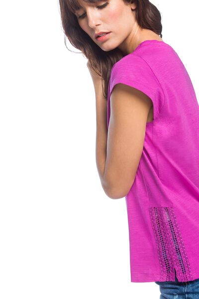 Camiseta lace laterales