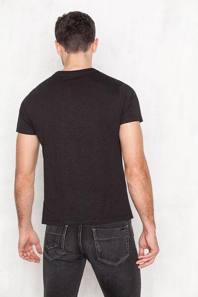 Camiseta mouline estampada