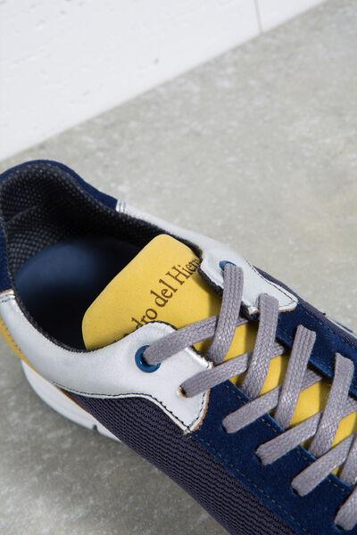 Sneaker icono piel y nylon