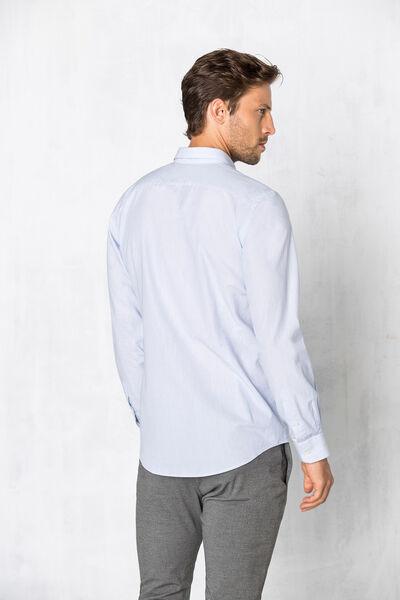 Camisa slim mil rayas