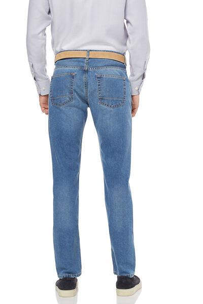 Jeans low zipper