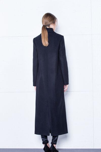 Abrigo negro largo