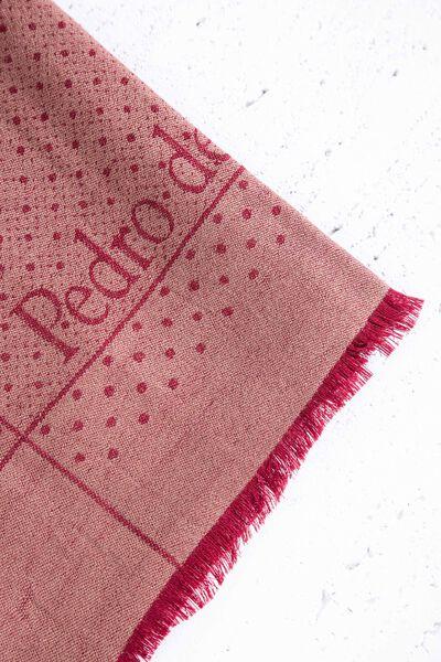 Foulard de tela con logos PDH