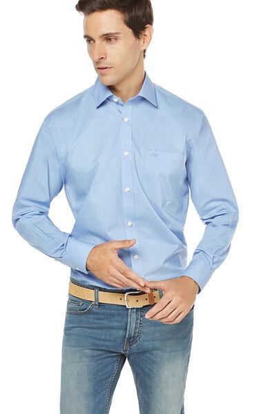 Camisa vestir popelin