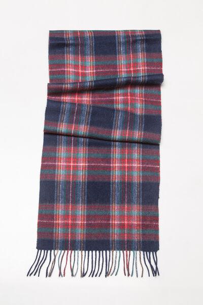 Bufanda de lana cuadros