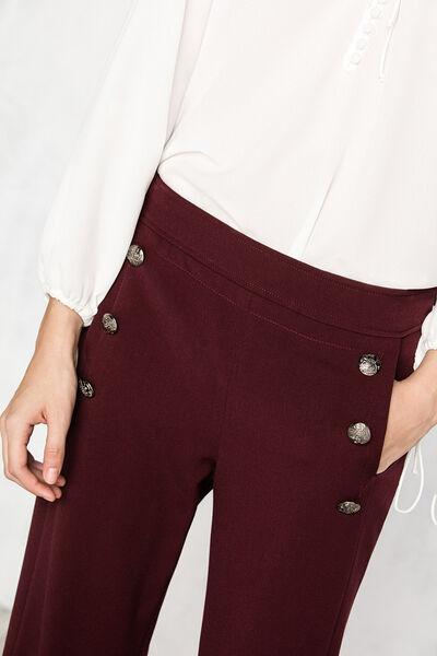 Pantalón largo botones retro