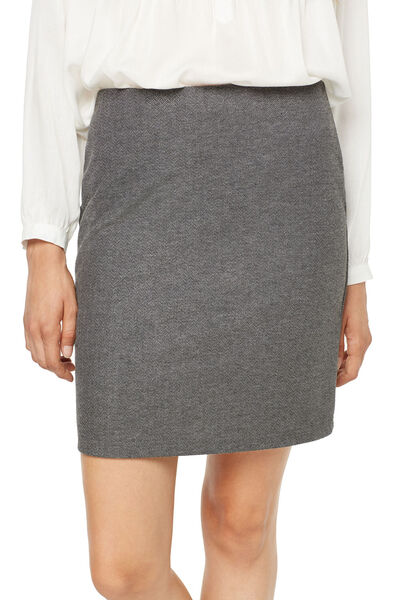 falda recta espiga