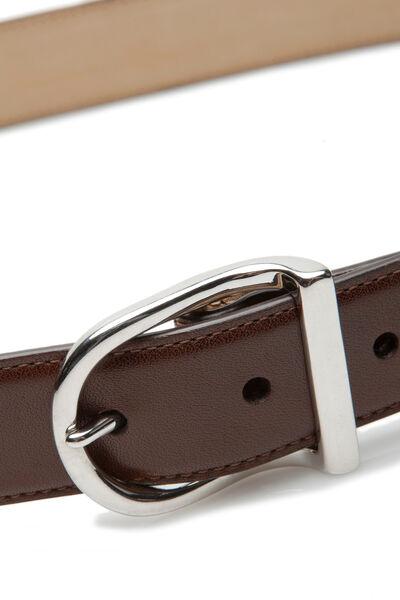 Cinturón vestir estrecho