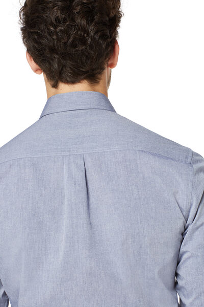 Camisa lisa bolsillo