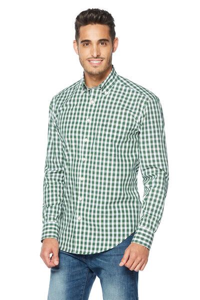 Camisa vichy bicolor