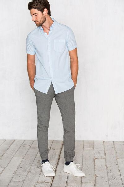 Camisa popelin tailor fit