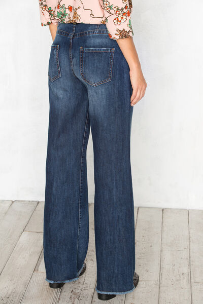 Pantalón 5 bolsillos pata de elefante