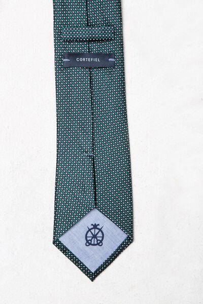 Corbata seda falso liso