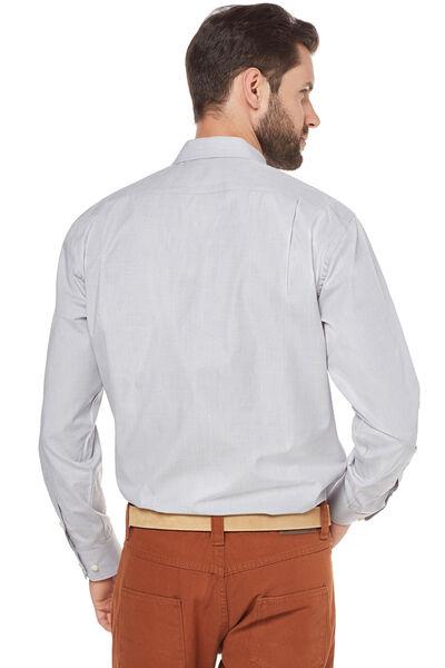 Camisa de vestir lisa