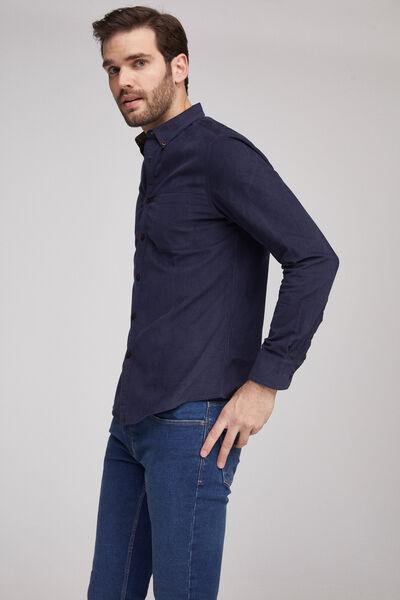 Camisa popelín estampada