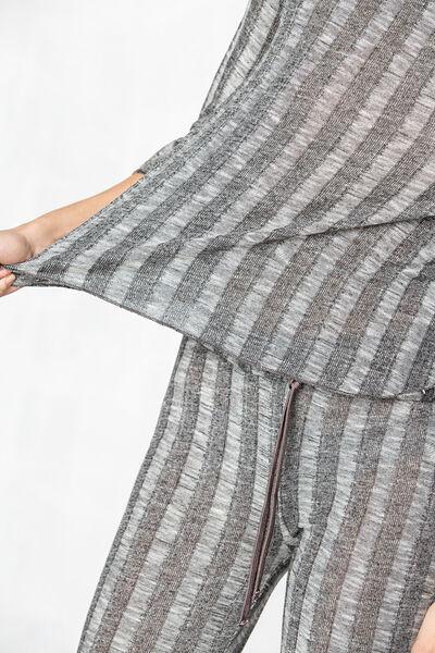 Pantalón canalé ancho