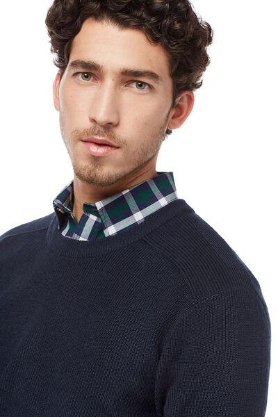 Jersey cuello caja