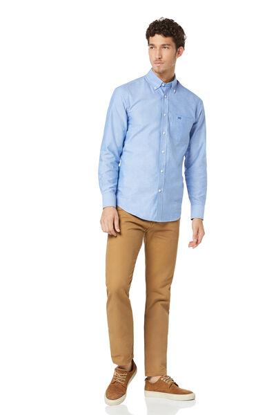 Camisa oxford liso