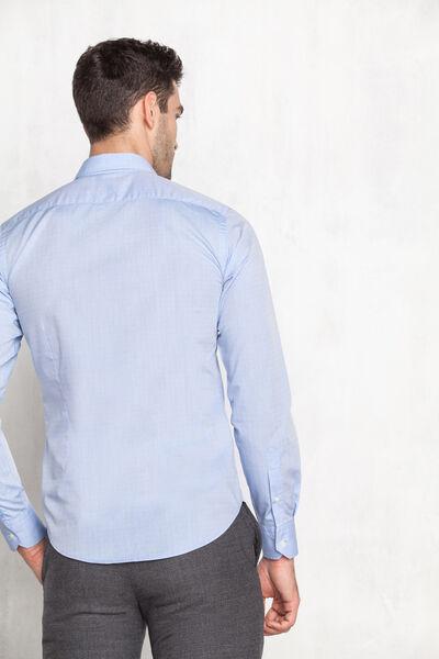 Camisa de estructura lisa
