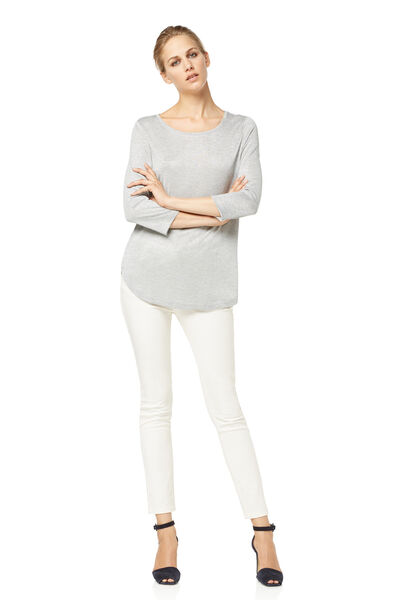 camiseta laminado plata