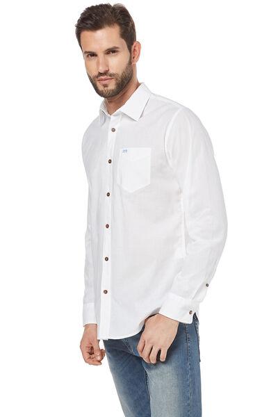 Camisa popelín lisa