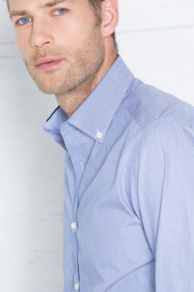 Camisa de rayas finas albini