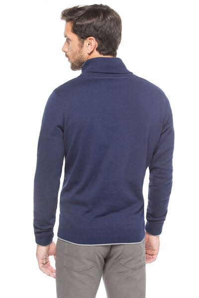Jersey cuello smoking algodón