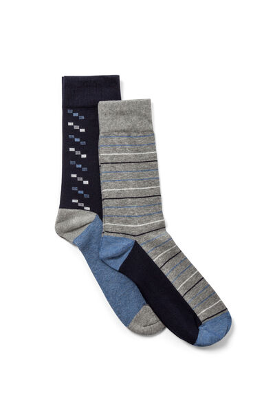 Pack 2 calcetines fantasía