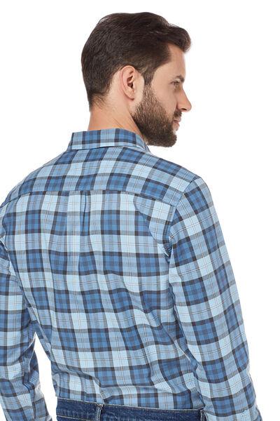 Camisa popelín cuadros