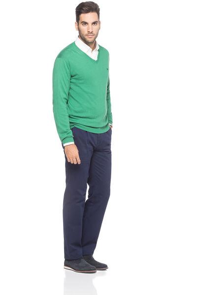 Pantalón chino pinza milano
