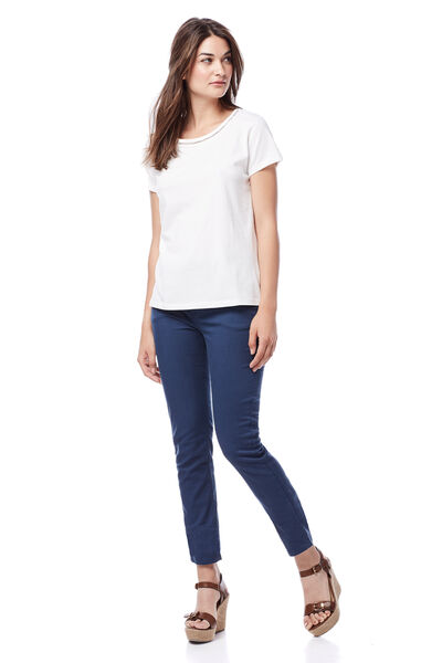 Pantalón slim cotton lycra