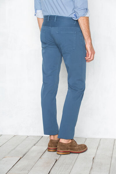 Pantalón 5 bolsillos tricotina