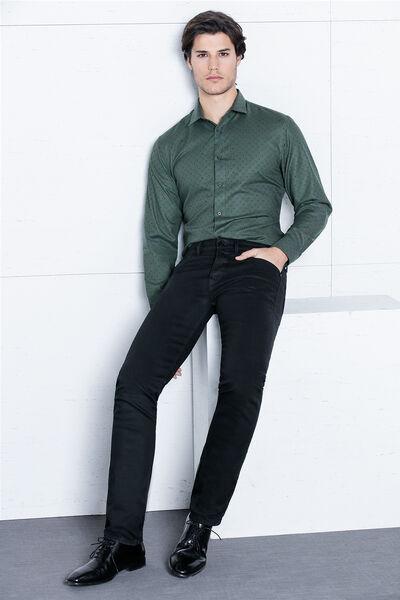 Camisa italprint verde