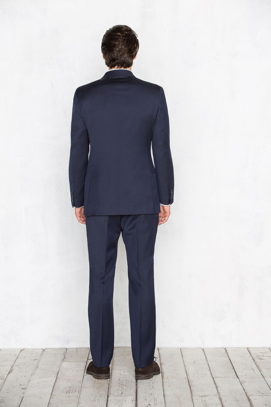 Traje liso tailored