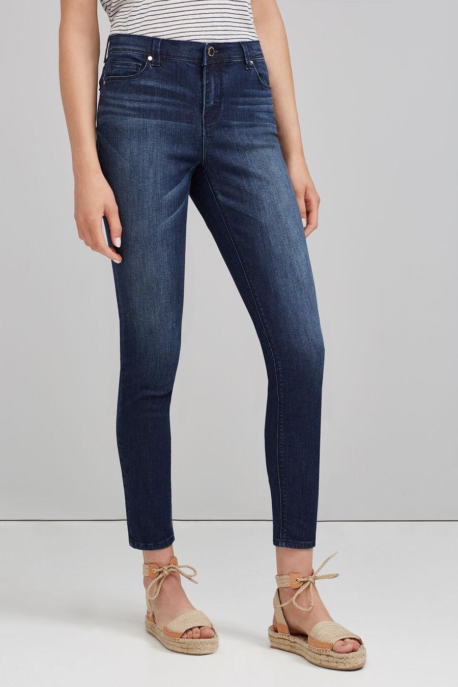 Slim denim trousers