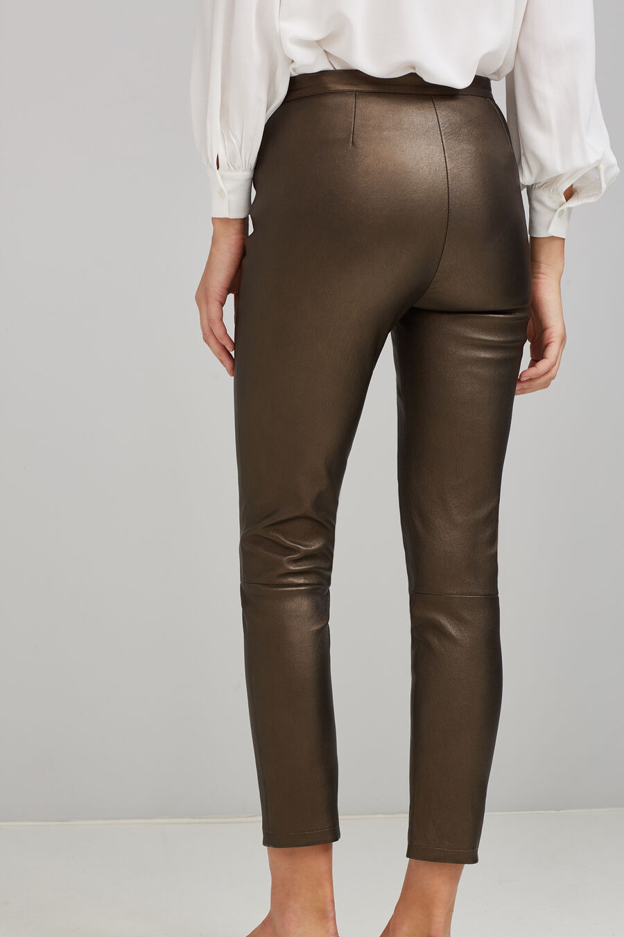 Napa leather leggings