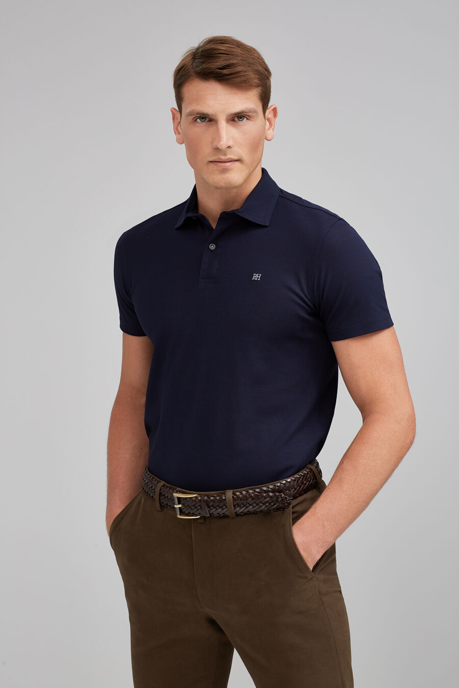 Refined polo shirt