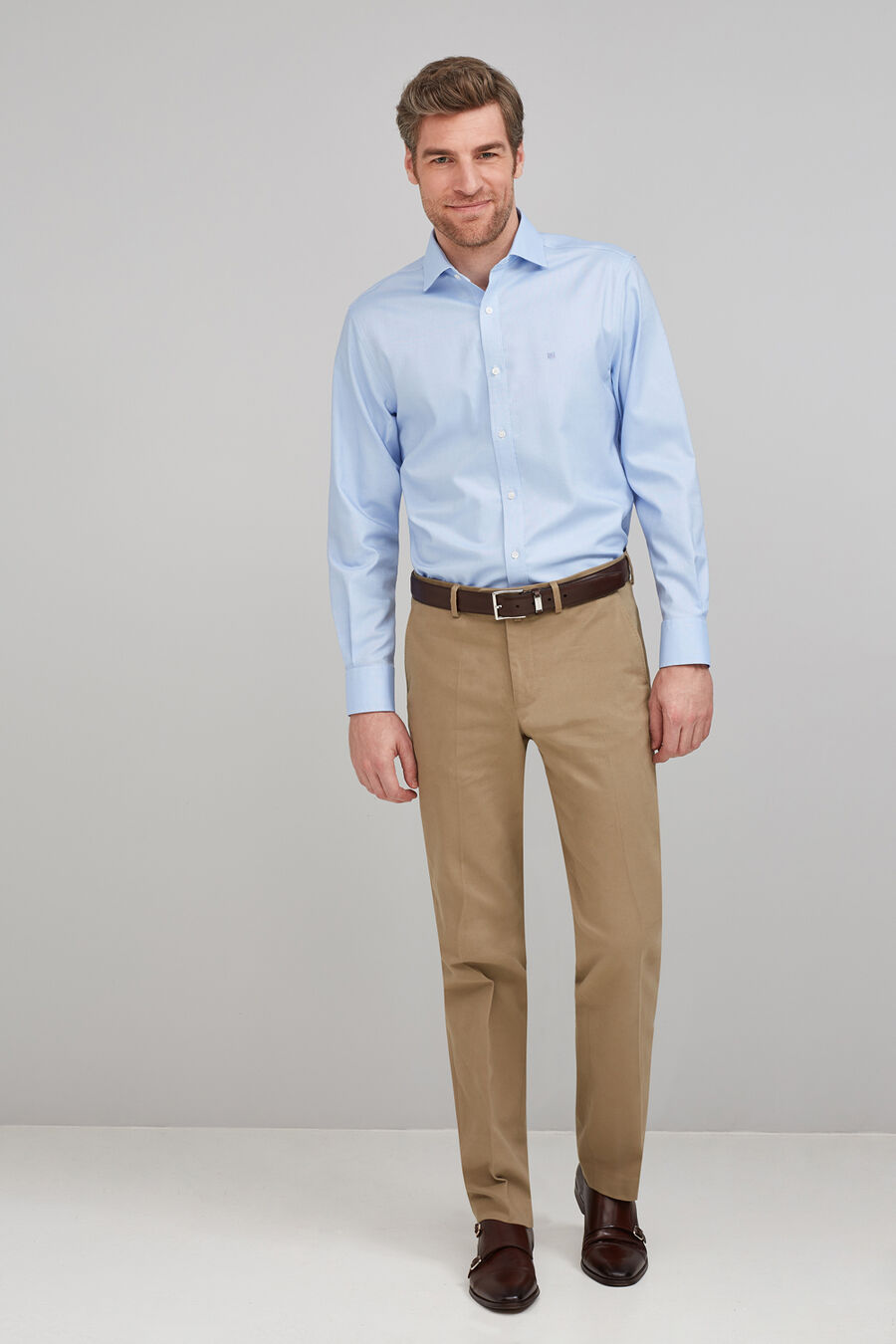 Formal non-iron shirt