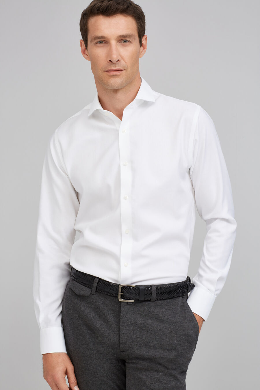 Non-iron Oxford shirt